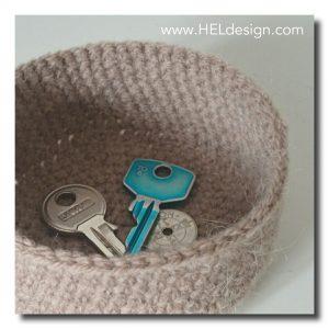 Crochet basket by Hege Espeland Lygre - HELdesign