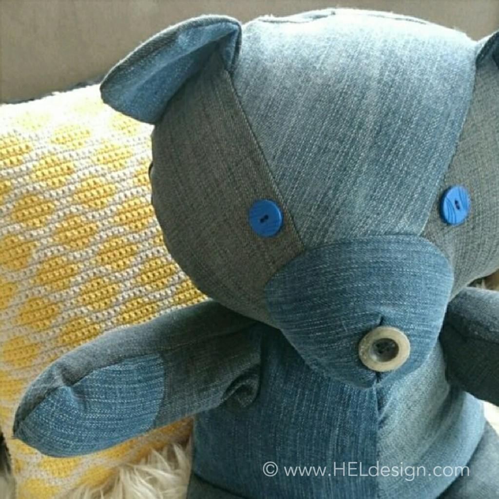 DIY by HELdesign - Teddybear/Bamse