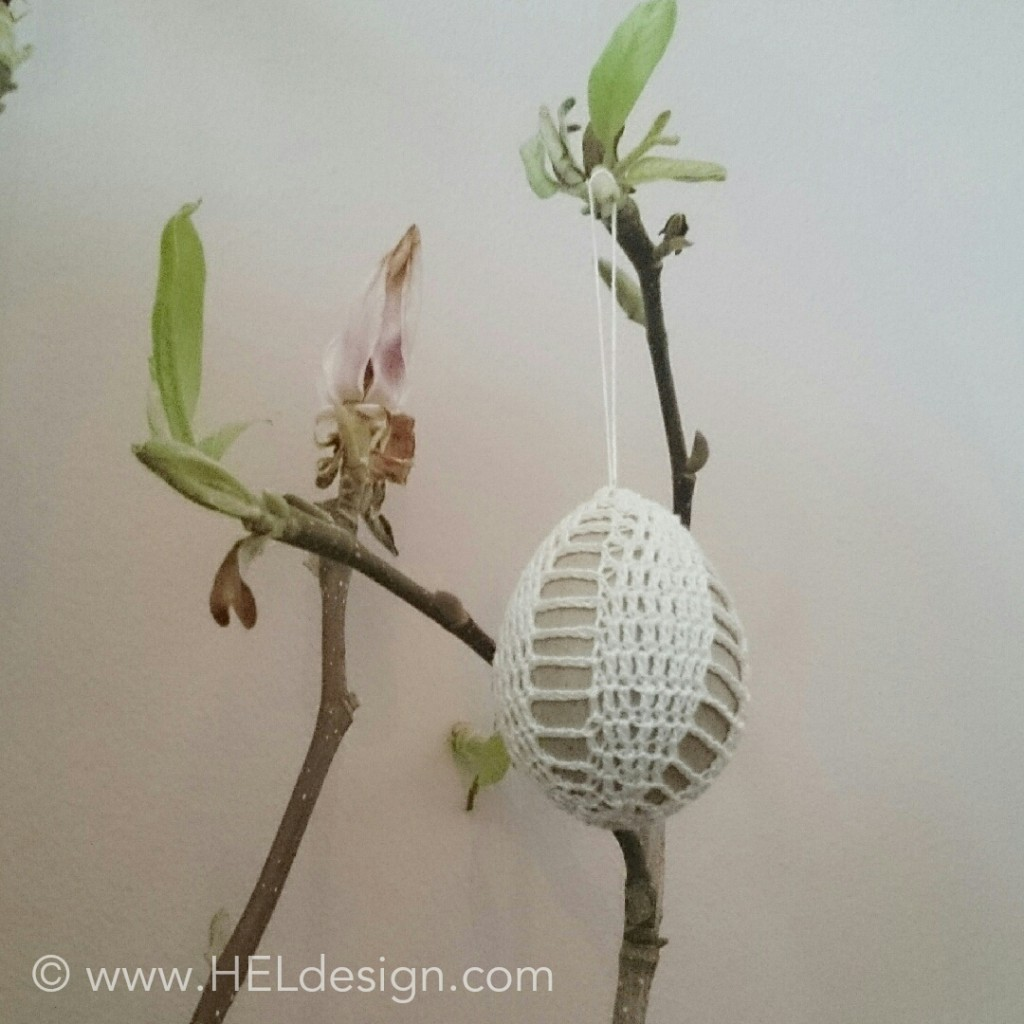 Crochet Easter Egg by HELdesign
