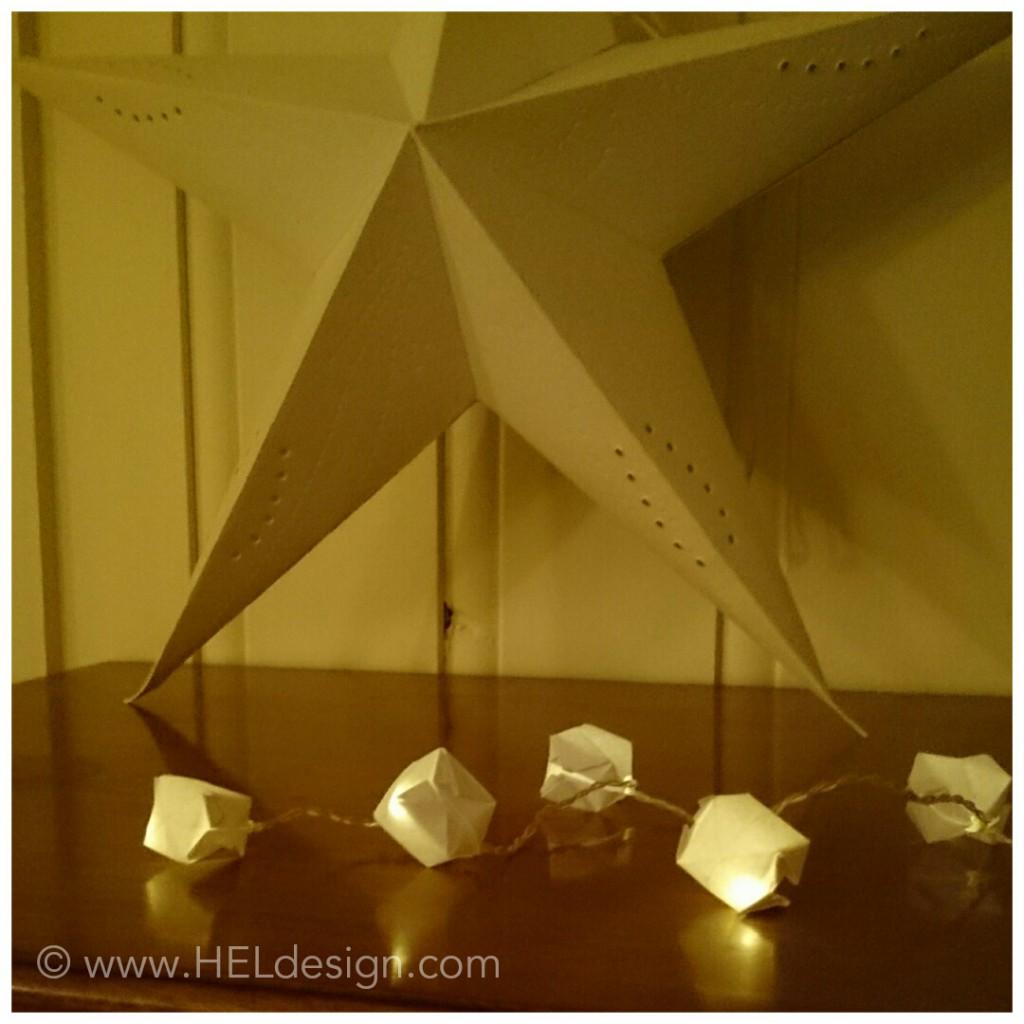 Lyslenke av papir - Hege Espeland Lygre
