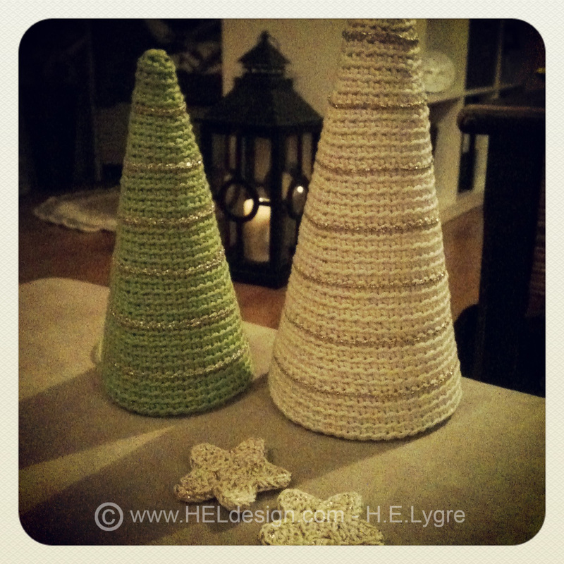 Heklet juletre av Hege Espeland Lygre