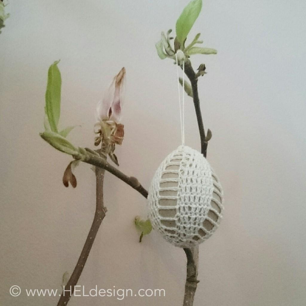 Crochet Easter Egg by HELdesign